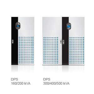 Delta DPS Series UPS, Three Phase, 160/200/300/400kVA, scalable up to 3200kVA in parallel