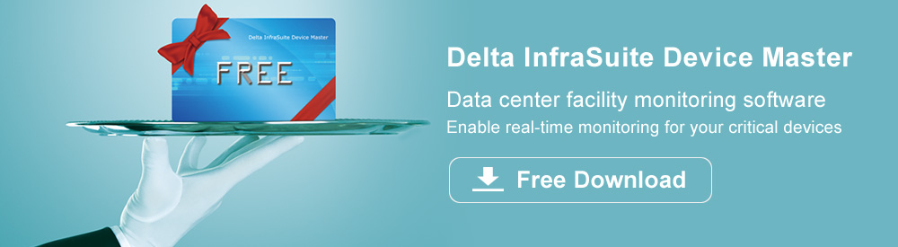 Delta InfaSuite Device Master - Data center facility monitoring software