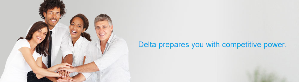 Delta prepares you with competitive power.