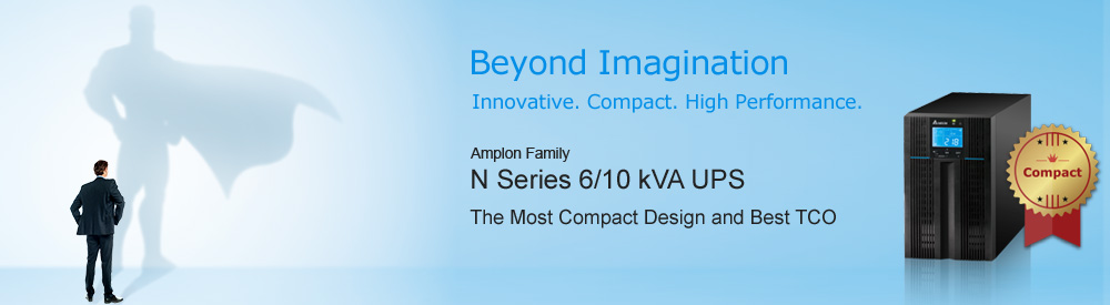 Delta Amplon Family new N 6/10kVA UPS - Beyond Imagination