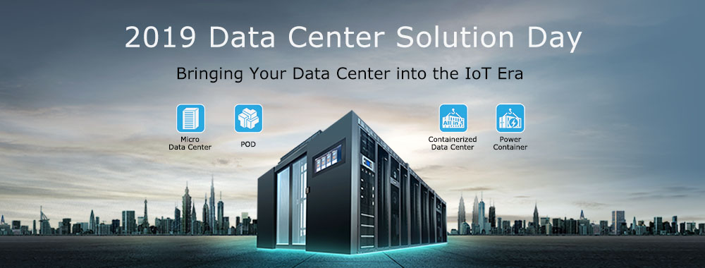 2019 Data Center Solution Day - Bringing your Data Center into the IoT Era