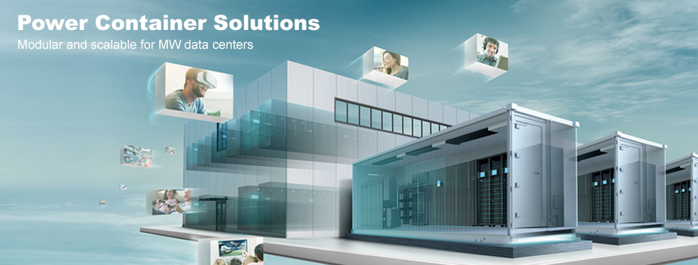 Delta Data Center - Power Container Solutions