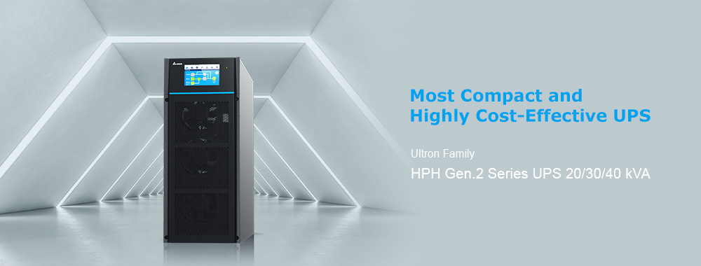 Delta HPH Gen.2 Series UPS, Three Phase, 20/30/40 kVA