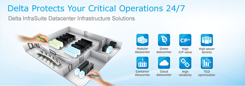 Delta datacenter solutions protect your critical operations 24/7