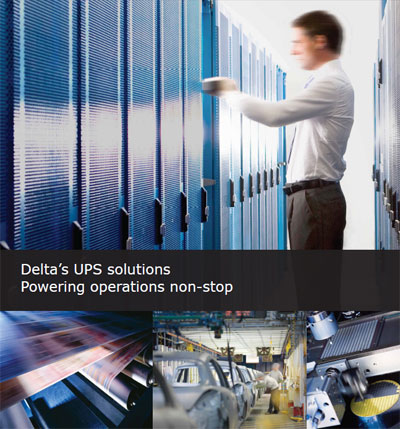 Delta's UPS solutions, Powering operations non-stop