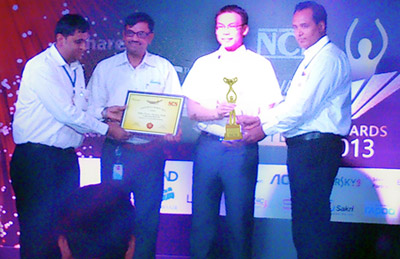 Delta India MCIS bags award for Leadership in Most Energy efficient UPS manufacturer by NCN media for Second Consecutive Year