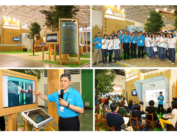 """Delta Sunshine School"" Kicks Off at COMPUTEX TAIPEI Showcasing a Future Smart Green Life with Delta's Latest Green Building Technologies"
