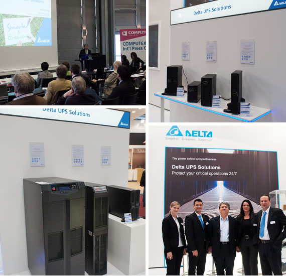 Delta at 2014 CeBIT messe