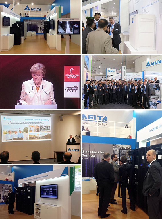 Delta Showcases Smart Solutions for Automation and Energy Management the World's largest Industrial Fair, Hannover Messe 2015