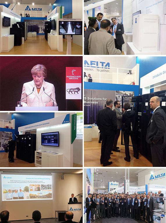 Delta представила интеллектуальные энергоэффективные решения для ЦОД InfraSuite на выставке Hannover Messe 2015
