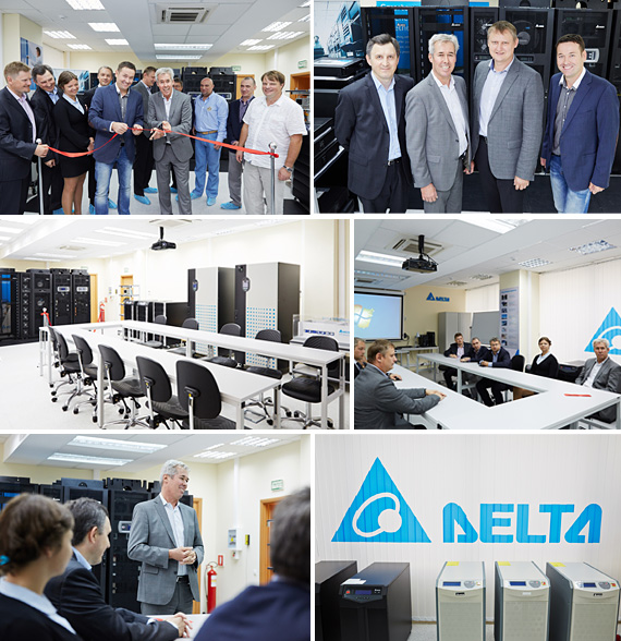 Delta Electronics Opens its First Training Center in Russia