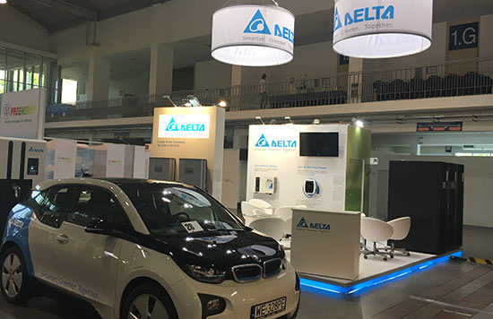 Delta displays innovative power solutions of the future at GREENPOWER tradeshow in Poznan