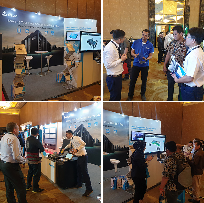 Delta Launches Secure and Sustainable Data Center Infrastructure Solutions at DCD Jakarta 2019