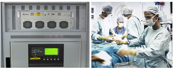Delta PQC Series Active Power Filter (APF) Protects the Operations in Hospitals