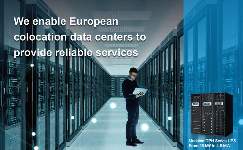Delta enables Atos's colocation data centers to provide reliable services