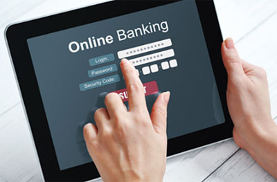 UPS in banking and finance sectors - online banking