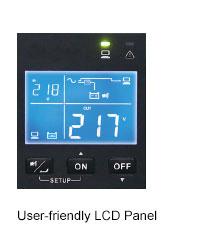 Delta R 1/2/3 kVA UPS - LCD panel
