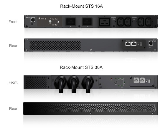 Rack-Mount Static Transfer Switch - DELTA