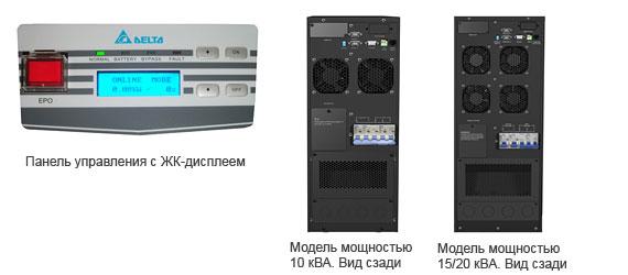 Панель управления с ЖК-дисплеем