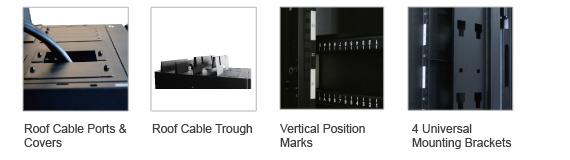 modular racks features